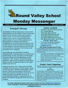 Monday Messenger
